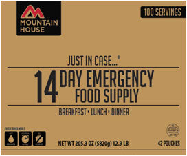 "Mountain House - ""Just In Case..."" 14 Day Emergency Food Supply"