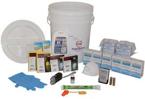 Standard Survival Bucket Kit - 2-Person / 72-Hour