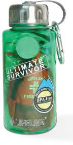 Ultimate Survivor in a Bottle 34 Piece