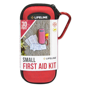 Lifeline Small Hard-Shell Foam First Aid Kit - 30 Piece