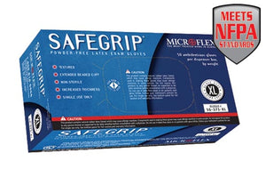 Microflex - SafeGrip Powder-Free Latex Exam - Box