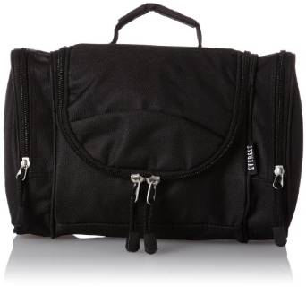 Everest Deluxe Toiletry Bag - Black