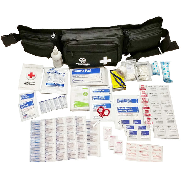First Aid Kit - 25 Person - 110 Pieces