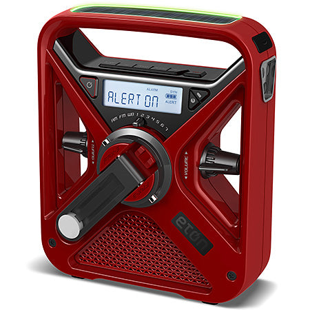 Eton - FRX3 Hand Turbine Radio - Red