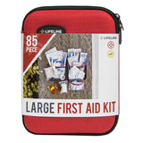Lifeline Large Hard-Shell Foam First Aid Kit - 85 Piece