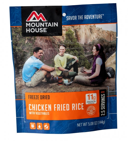 Chicken Fried Rice - Case (6 Pouches)