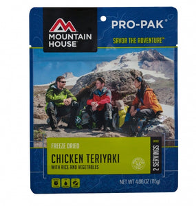 Chicken Teriyaki with Rice - PRO-PAK - Case (6 Pouches)