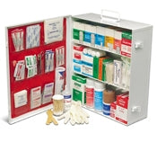 3 Shelf Medium Industrial First Aid Kit w/Liner