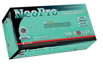 Microflex - NeoPro Polychloroprene Powder-free Disposable Gloves (100 Each Per Box)