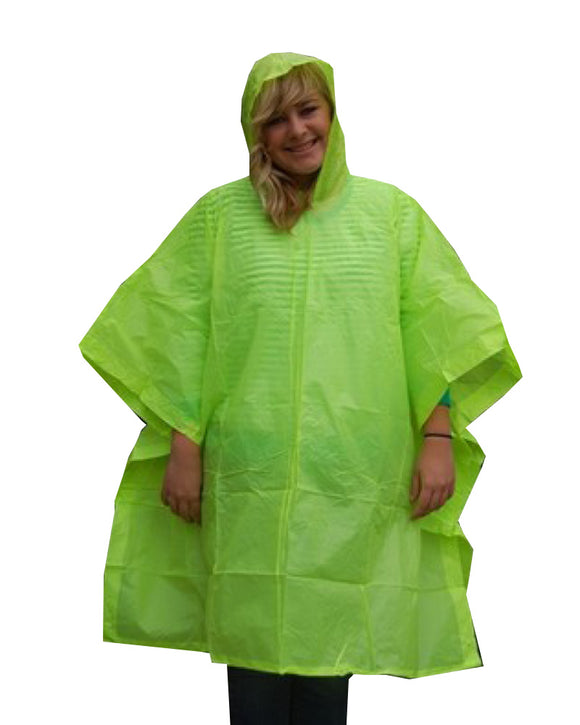 10 Mil Emergency Rain Poncho