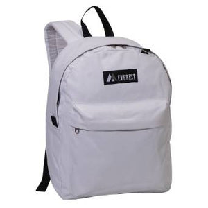 Everest Luggage Classic Backpack - White