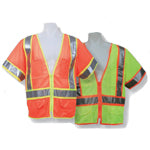 ANSI Certified Ultra-lightweight Vest with Contrasting Outlines