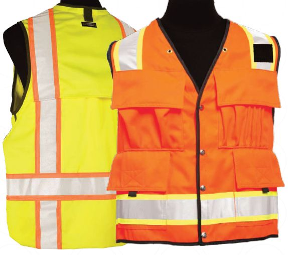 High Performance Pro Series DuraTuff High Quality Safety Vest - Class 2