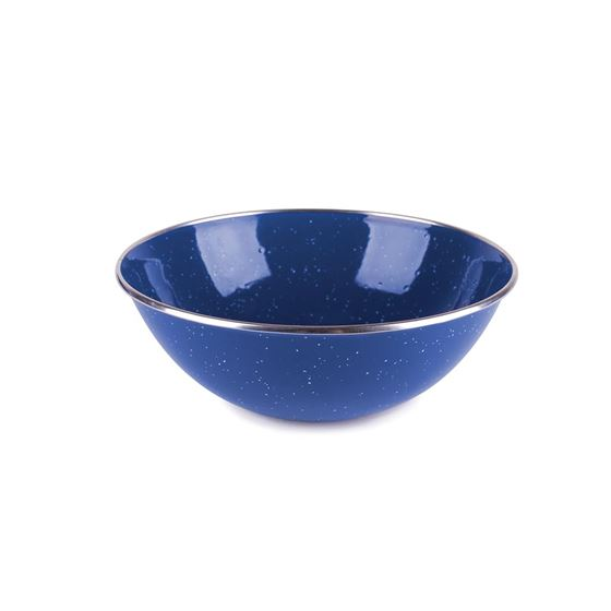 Enamel Mixing Bowl - S.S. Edge - 7.25 Inch