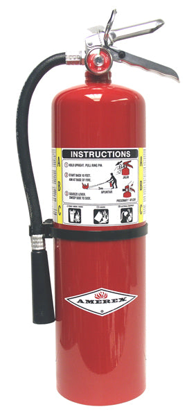 Amerex 10 LBS ABC Fire Extinguisher w/ Wall Bracket