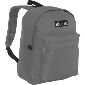 Everest Luggage Classic Backpack - Gray