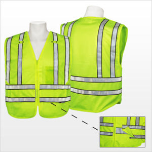 3A Safety - PV1801 ANSI 207 Safety Vest