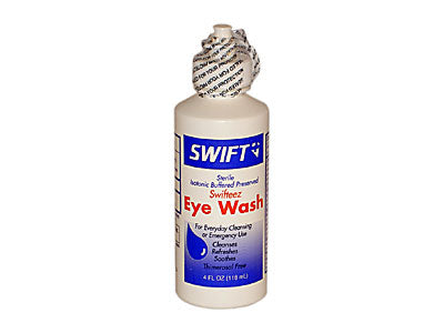 Sterile Eye Wash, 4 oz.