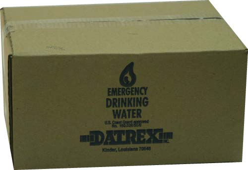 Datrex Emergency Water Packet - Case of 64
