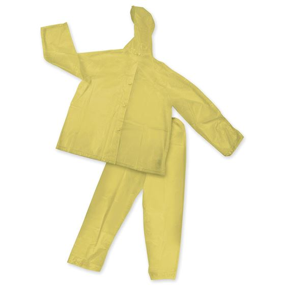 Peva Rainsuit - Yellow - M