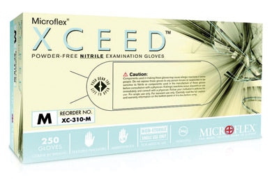 Microflex - Xceed - Nitrile Gloves - Box (250 Gloves Per Box)