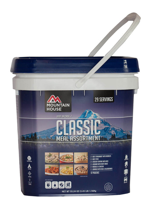 Mountain House-Just in Case... Classic Assortment Bucket