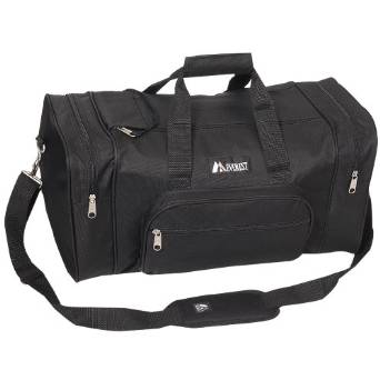 Everest Luggage Classic Gear Bag - Small, Black - Black