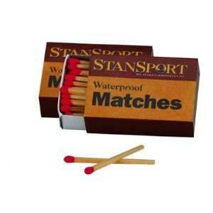 Waterproof Matches - 40 Pack