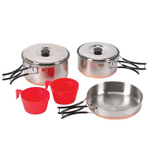 Two Person Stainless Cook Set
