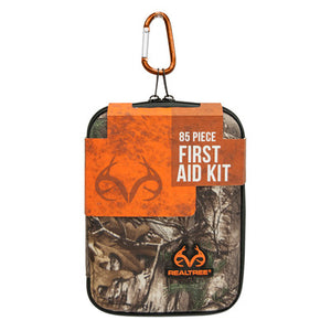 Lifeline Realtree Large Hard-Shell Foam First Aid Kit - 85 Piece