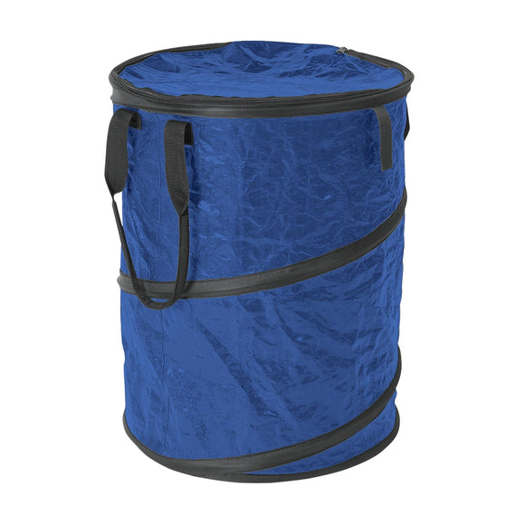 Collapsible Campsite Carry-All / Trash Can - Blue
