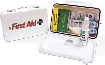 Truck First Aid Kit Small Steel