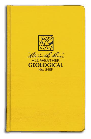 Geological Bound Book (4 3/4