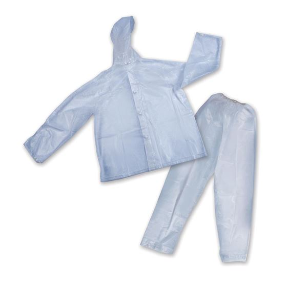 Peva Rainsuit - Clear - L