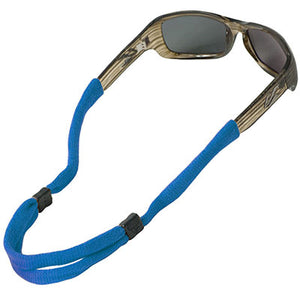 No-Tail Adjustable Standard End Cotton Eyewear Retainers - Royal Blue