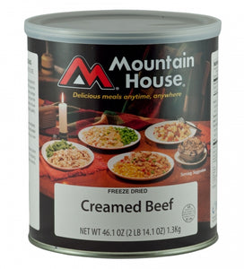[Discontinued] Creamed Beef
