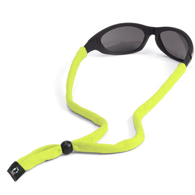 Original Cotton Standard End Eyewear Retainers - EV Neon Yellow