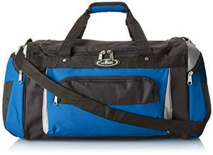 Everest Deluxe Sports Duffel Bag  - Royal Blue