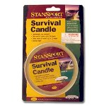 Survival Candle - Burns 36 Hours - For Camping and Emergency Prepardness Kits