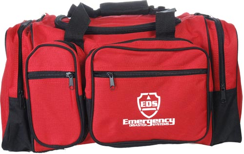Red Duffel Bag - Style Large Carrying Bag