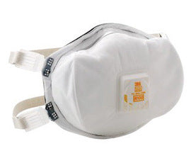 3M™ N100 Disposable Particulate Respirator With Cool Flow™ Exhalation Valve