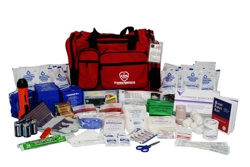 Office Emergency Kit - 4 Person Departmental Emergency Disaster Kit