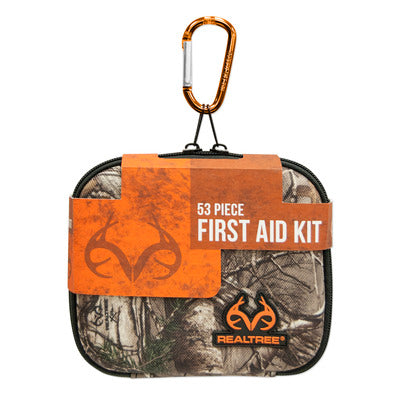 Lifeline Realtree Medium Hard-Shell Foam First Aid Kit - 53 Piece