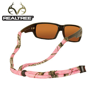 Original Cotton Standard End Eyewear Retainers - RealTree APC Pink