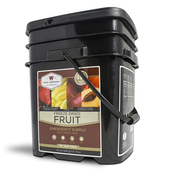 Freeze Dried Fruit - 156 Servings