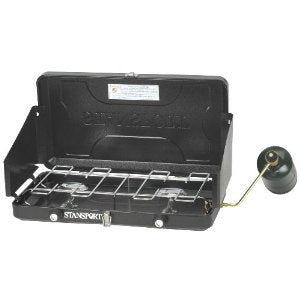 Stansport Two Burner Regulated Propane Stove
