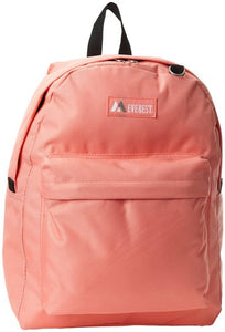 Everest Luggage Classic Backpack - Coral