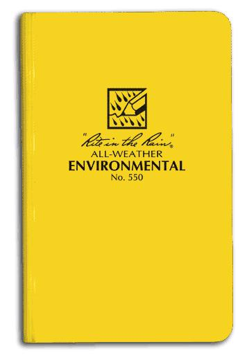 Environmental Bound Book (4 3/4