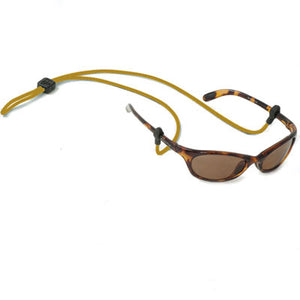 3MM Slip Fit Nylon Rope Eyewear Retainers - Gold