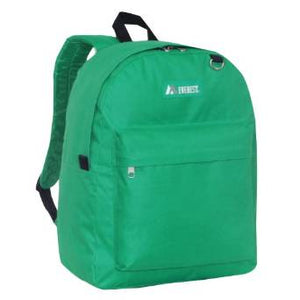 Everest Luggage Classic Backpack - Emerald Green